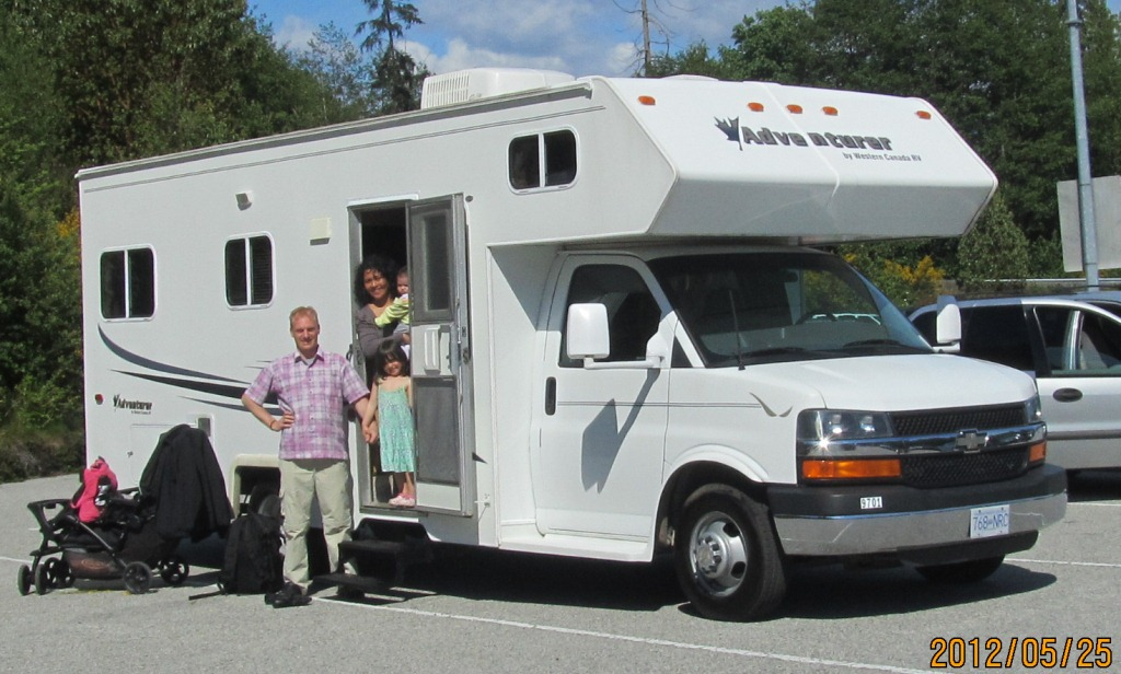 good time rv rental trip in BC Canada