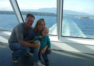 BC Canada motorhome rental vacation bc ferry crossing photo